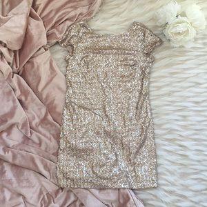 NWOT White House Black Market Sequin Dress